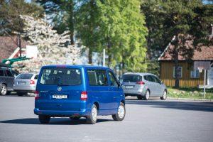 Den blå bilen på Tromøya